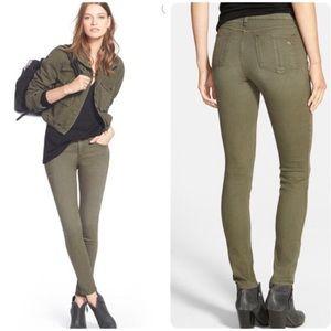 Rag & Bone Skinny Jeans Distressed Fatigue Sz 27